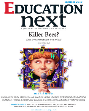 Education Next Issue Cover