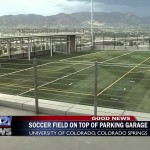 Campus parking garage to have a soccer field on top