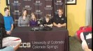 UCCS introduces the newest player on its basketball team