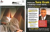 This attack ad against Rep. Tony Exum has racist and sexist overtones, a local professor says.