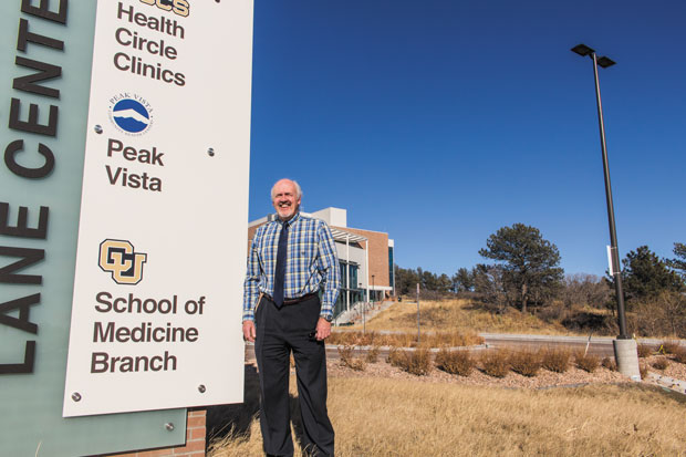 Mike Kenny, director of the Aging Center, oversees the behavioral health clinic located at UCCS.