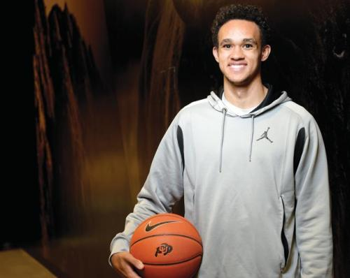 Former UCCS star Derrick White will sit out the coming season because of the NCAA transfer rule, but has one season of eligibility remaining with the