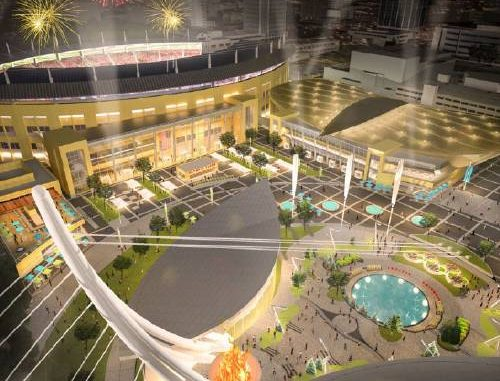 City for Champions Sports and Event Center Rendering