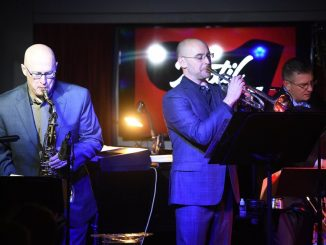 Cully Joyce, Sean Schafer Hennessy and Jason Crowe perform during a Hennessy 6 show