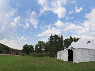 Tent at Rock Ledge Ranch
